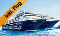Mein Schiff 2 Mittelmeer Specials inklusive Flüge