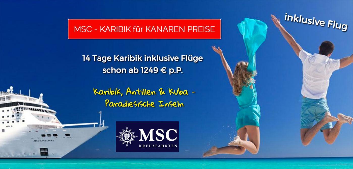 Msc Armonia Karibik Kreuzfahrten Zum Schnäppchenpreis