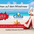 mit Cotsa ab 679 Euro über Weihnachten 7 Tage auf dem Mittelmeer