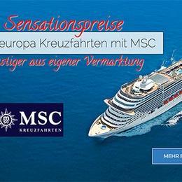 Nordeuropa Kreuzfahrten mit MSC günstiger aus eigener Vermarktung