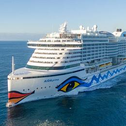 AIDA Kontingente im Mittelmeer in den Pfingstferien Mai 2018